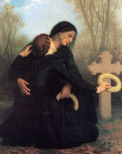 il giorno della morte - William Bouguereau