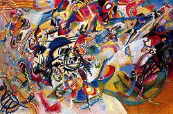 Vassily Kandinsky del 1913 - Compositione VII