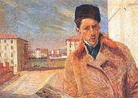 Autoritratto - Umberto Boccioni