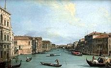 il canal Grande dal palazzo Balbi al ponte di Rialto