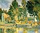 Jas de Buffan - La Piscina - Paul Cézanne