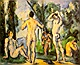 Bagnanti - Paul Cézanne