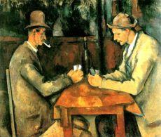 I giocatori di carte - Paul Cézanne
