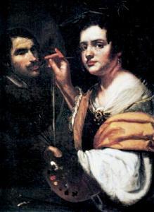 Artemisia Gentileschi - Allegoria della pittura