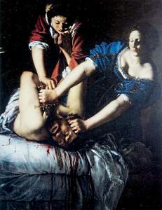 Artemisia Gentileschi - Giuditta decapita Oloferne