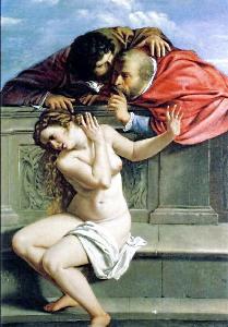 Artemisia Gentileschi - Susanna e i vechioni