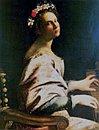 Autoritratto come santa Cecilia - 1620