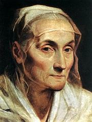 Ritratto di donna anziana