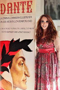 L'artista Anna Maria Guarnieri
