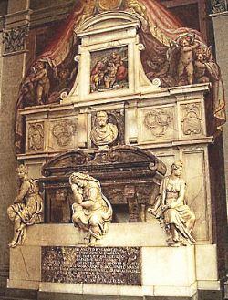 Tomba di Michelangelo Buonarroti in Santa Croce - Firenze