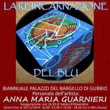 La reincarnazione del blu - personale di Anna Maria Guarnieri dedicata a Domenico Modugno