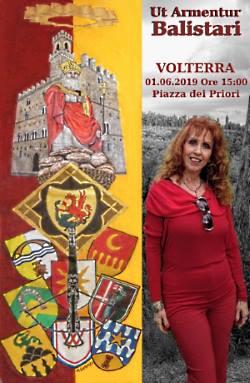 Anna Maria Guarnieri con il suo palio