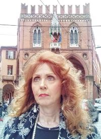 l'artista Anna Maria Guarnieri a Bologna