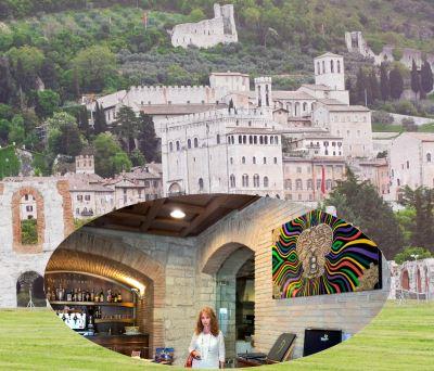 Gubbio teatro Romano Hotel Consoli