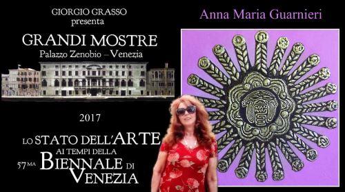Anna Maria Guarnieri espone a Venezia