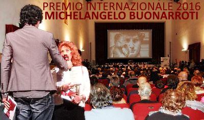 Anna Maria Guarniri al Premio Michelangelo Buonarroti