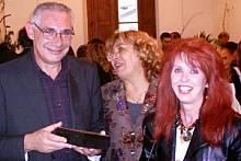 Da sinistra: Assessore Roberto Drovandi - Giulia Gozzini - Anna Maria Guarnieri