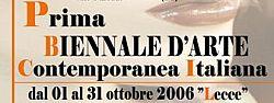 Prima Biennale d'Arte Contemporanea a Lecce