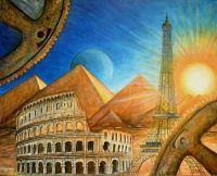 il ciclo delle civiltà - Opera di Anna Maria Guarnieri