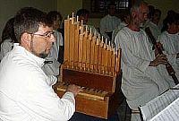 Voci e strumenti del Laboratorio di musica antica del Concentus Lucensis di Lucca