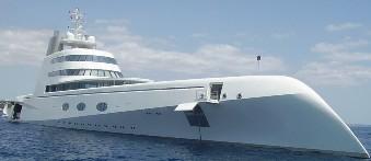 Yacht di Andreï Melnichenko