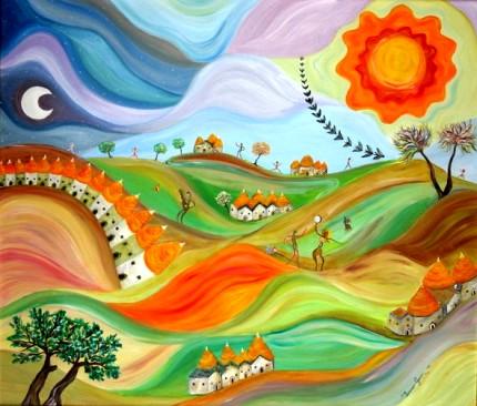 Valle d'Itria - Opera dell'artista pittore Lorenzo Gassi