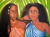 Donne tahitiane by Rosalba Vincenzi