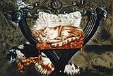 Il gatto pensante - Opera dell'artista Ruggiero Bignardi