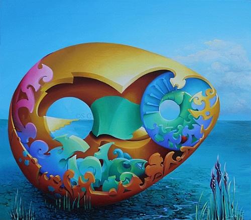 Narrow eggscape - Opera vincitrice Concorso PITTart.com