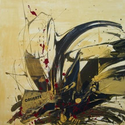 Caliente - Opera dell'artista Samuele Maiellaro