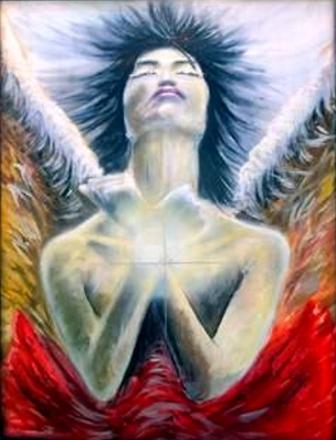 Angel 1 - Opera dell'artista Daniele Bianchi