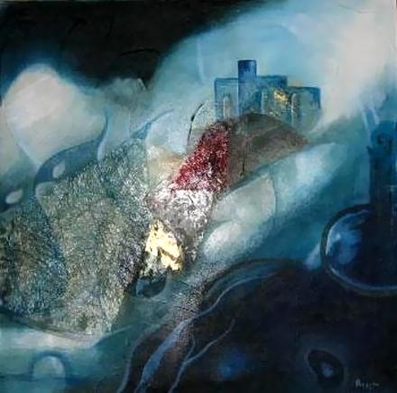Lo specchio - Opera dell'artista Linda Boschi