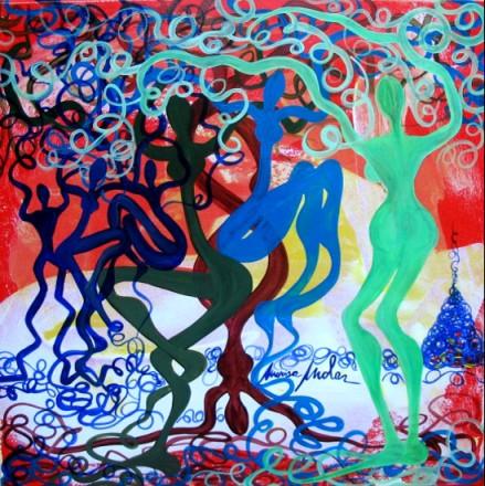 Opera dell'artista Marisa Mola