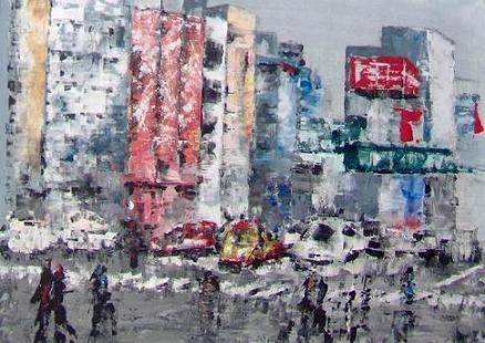 Tokio 2 - Opera dell'artista Vittoria Nidasio