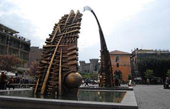 Le scuderie Estensi in piazza Garibaldi a Tivoli