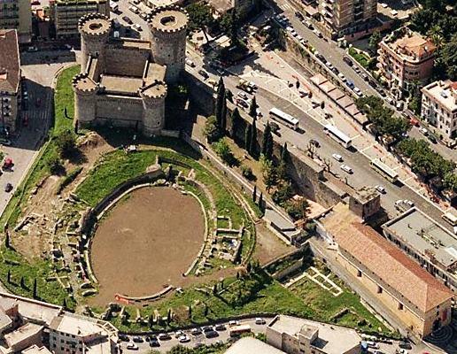 scuderie, anfiteatro di Bleso, rocca Pia