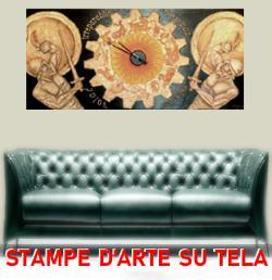 Stampe e riproduzioni d'arte su tela