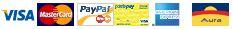 Carte di Credito accettate da PayPal